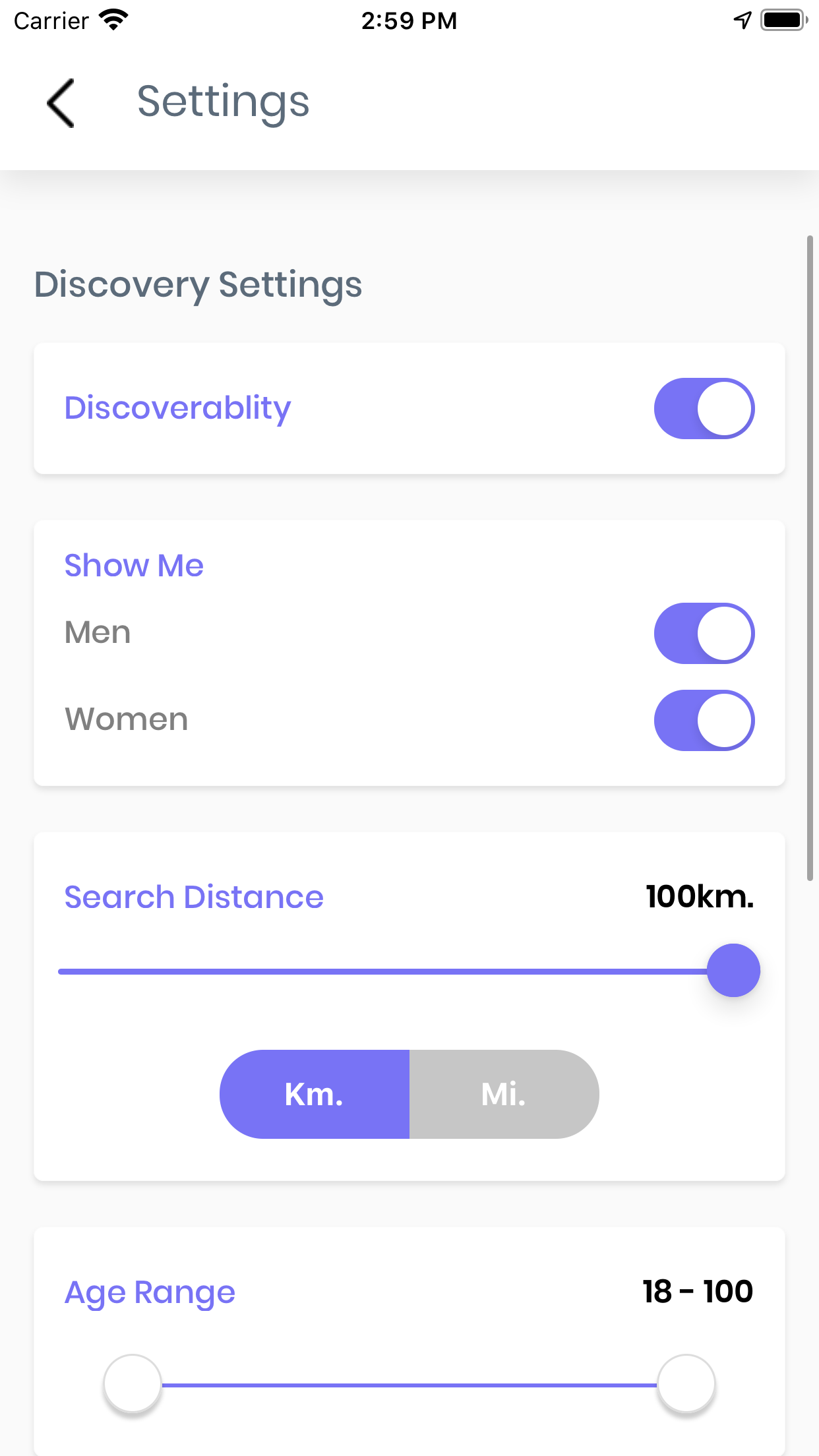 React Native Dating App With Backend