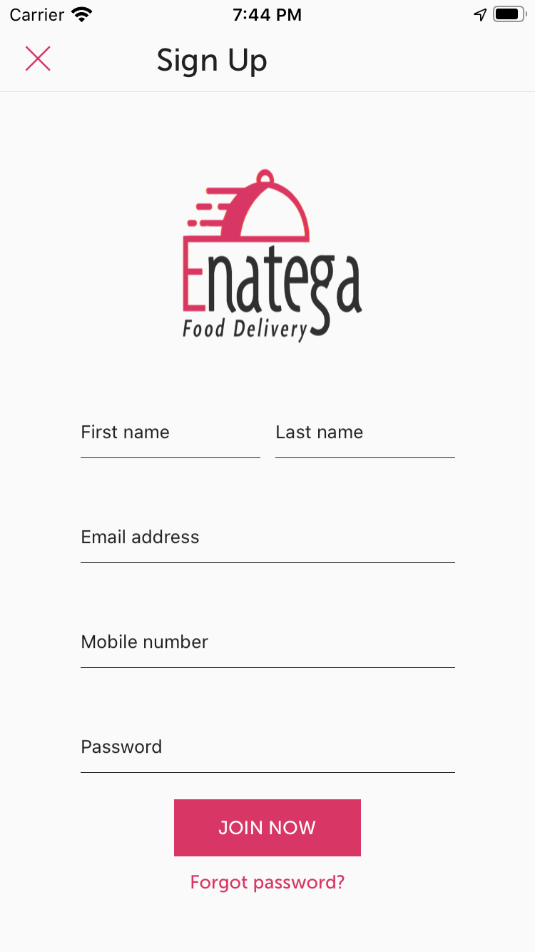 Enatega React Native Food Delivery With Backend